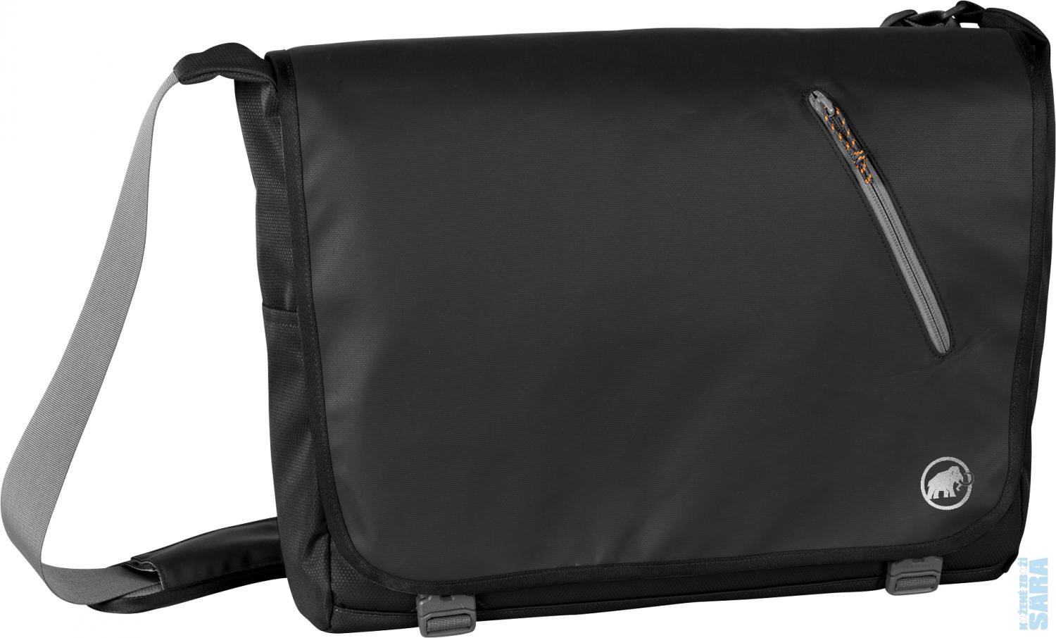 "Pánská taška na notebook 14"" Messenger Square 14 L black, MAMMUT"